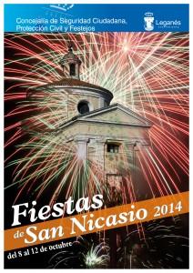 Cartel Fiestas San Nicasio 2014