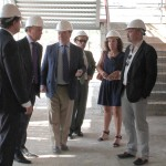 Visita viceconsejero y concejal a obras nuevo IES Arroyo Culebro 1