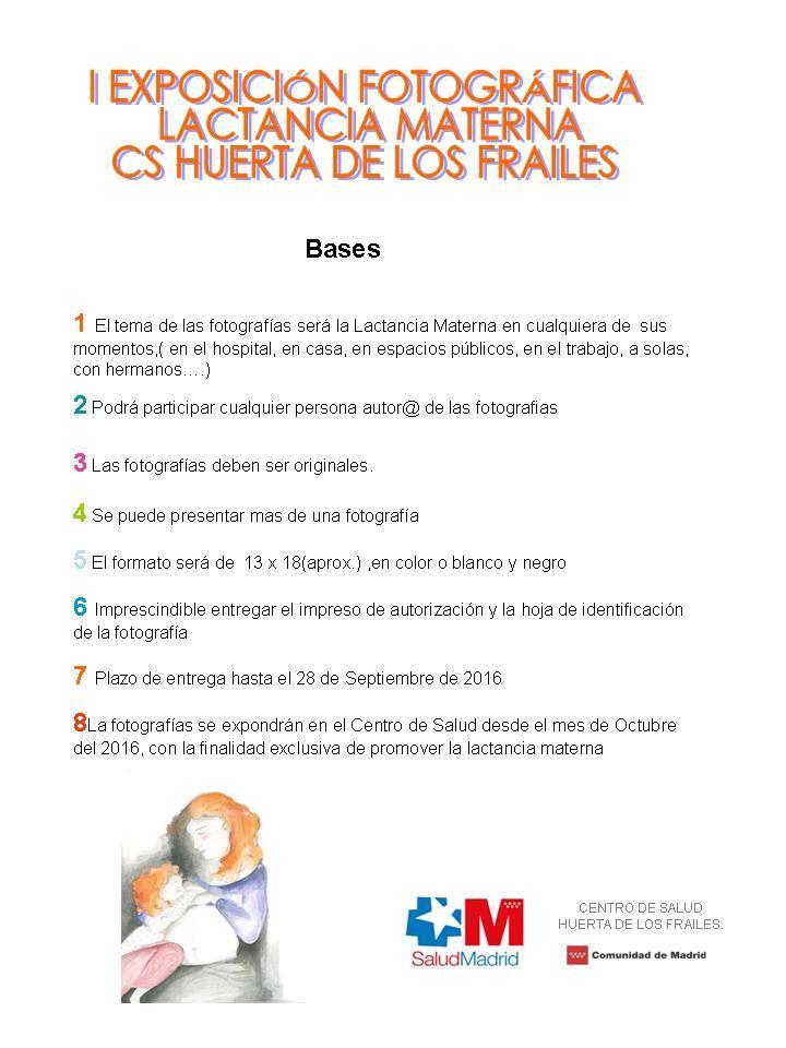 bases participacion exposicion fotografica lactancia materna leganes