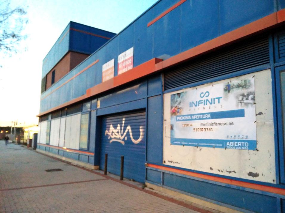Arroyo culebro residencial for Gimnasio leganes