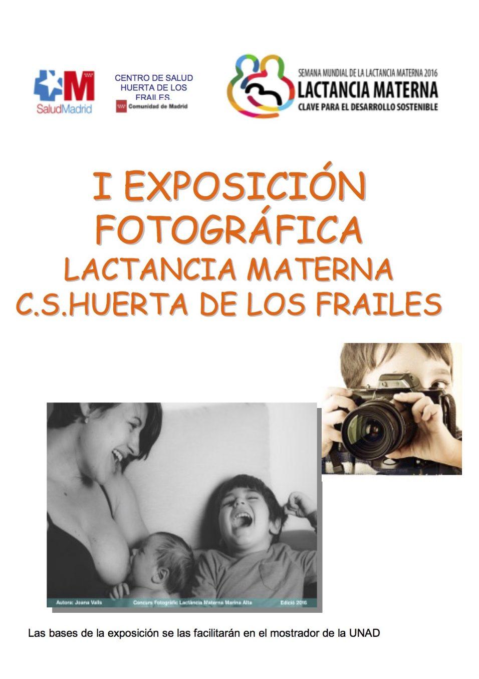 lactancia materna exposición fotografica leganes