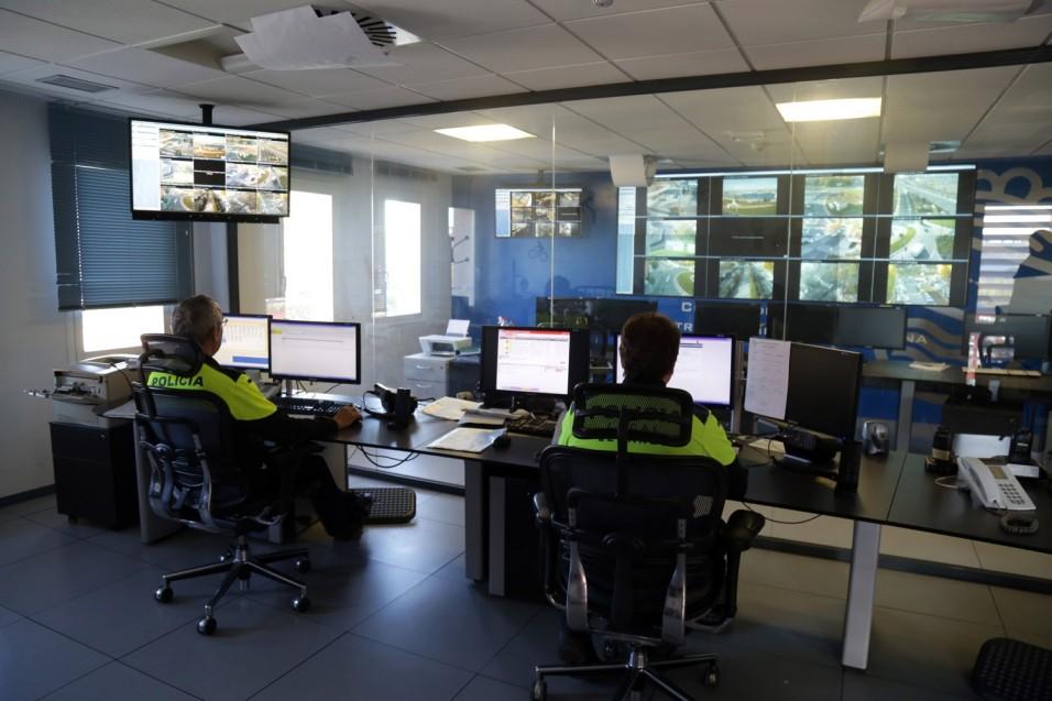leganes policia local centro pantallas LGNS